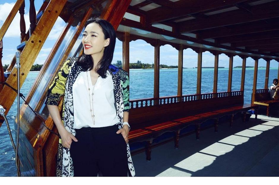 中国女明星王丽坤优雅迷人清新自然气质写真照